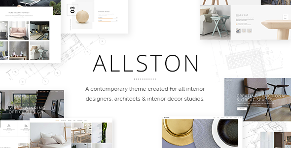 Allston   Contemporary Theme For Interior Design And Architecture    Portfolio Creative