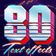 80s Text Effects - 10 PSD-Graphicriver中文最全的素材分享平台