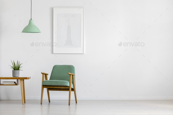 Retro Armchair In Bright Interior Stock Photo By Bialasiewicz | PhotoDune