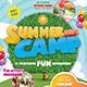 Kids Summer Camp Flyer-Graphicriver中文最全的素材分享平台