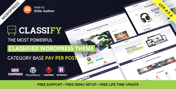 Classify - Classified Ads WordPress Theme by JoinWebs | ThemeForest