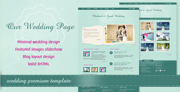 ThemeForest - Our Wedding Page - RiP