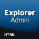 Explorer Admin - ThemeForest Item for Sale
