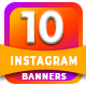 10 Multipurpose Instagram T-Graphicriver中文最全的素材分享平台