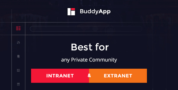 BuddyApp - Mobile First Community WordPress theme by SeventhQueen ...