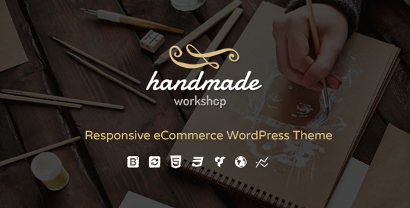 Handmade - Shop WordPress WooCommerce Theme by G5Theme | ThemeForest