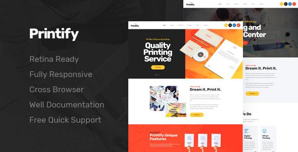 Printify attention grabbing printing company html template by printify attention grabbing printing company html template business corporate maxwellsz