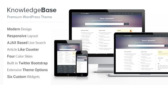 Knowledge Base - A WordPress Wiki Theme by InspiryThemes   ThemeForest
