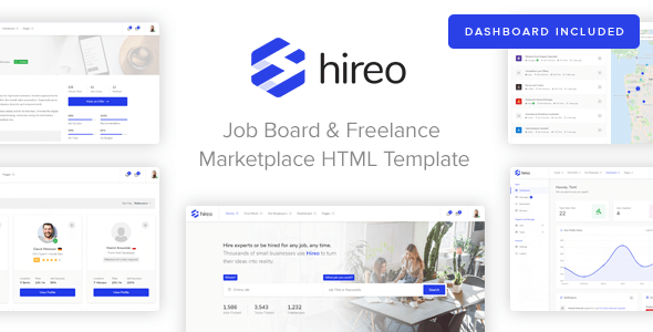 Hireo Job Board Freelance Services Marketplace HTML Template By - Invoice format for freelancers for service business