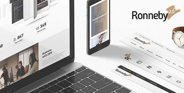 Ronneby - High-Performance WordPress Theme by DFDevelopment ...