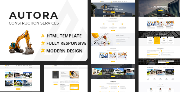 Autora - Construction Business HTML Template by themesflat | ThemeForest