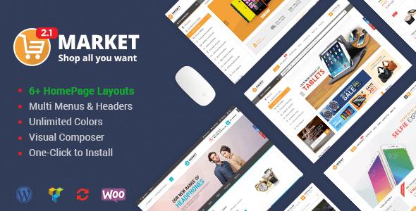 Market - Shopping WooCommerce WordPress Theme by magentech | ThemeForest