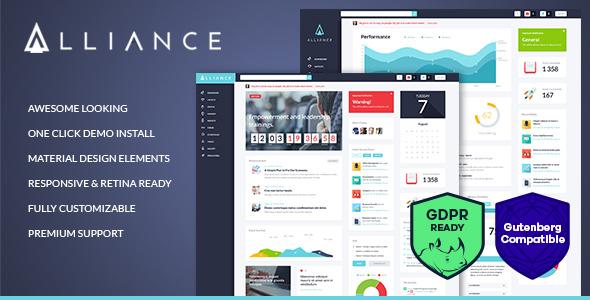 Alliance | Intranet & Extranet WordPress Theme by ThemeREX | ThemeForest