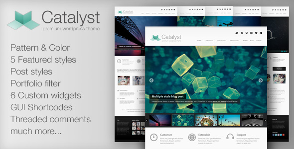 Catalyst for WordPress