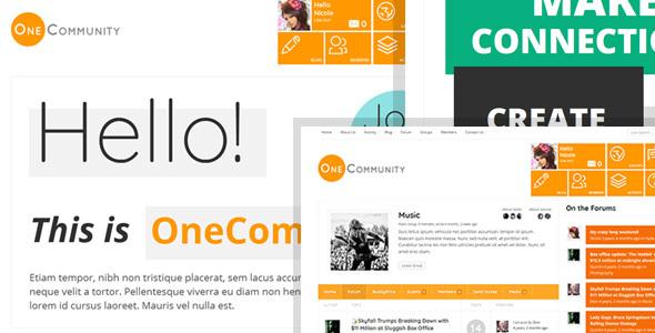 OneCommunity - BuddyPress Community e-Learning LMS Theme by Diabolique