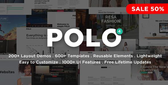 Polo - Responsive Multi-Purpose HTML5 Template by inspiromedia ...