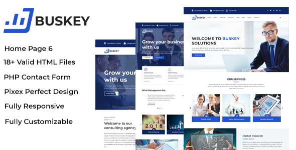 Buskey business consulting and corporate template by validthemes buskey business consulting and corporate template site templates flashek Choice Image