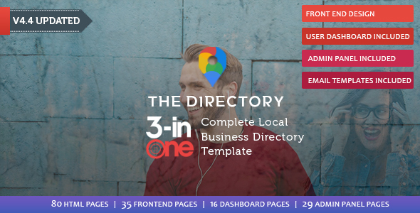 The directory directory listing template by rn53themes themeforest the directory directory listing template business corporate accmission Image collections