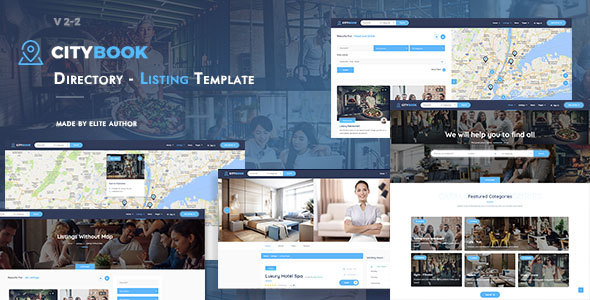 Citybook directory listing template by kwst themeforest citybook directory listing template business corporate accmission Gallery