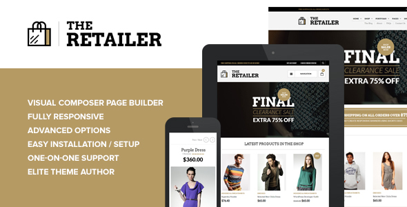 The Retailer - Premium WooCommerce Theme by getbowtied | ThemeForest