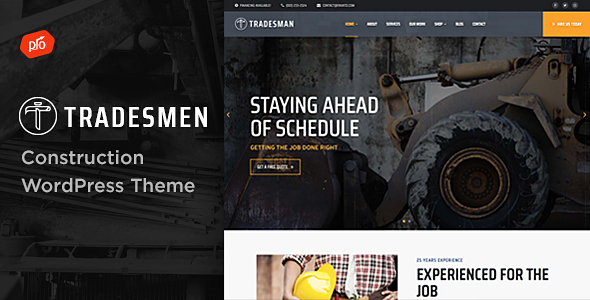 Renovation - Construction Company Theme - 1