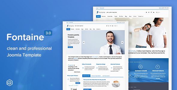 Fontaine responsive business joomla template by arrowthemes fontaine responsive business joomla template business corporate wajeb Images
