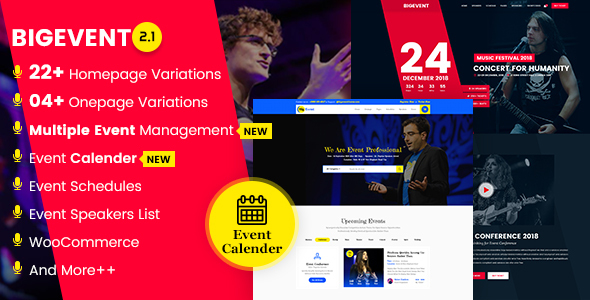 Bigevent conference event wordpress theme by codexcoder themeforest bigevent conference event wordpress theme events entertainment malvernweather Gallery