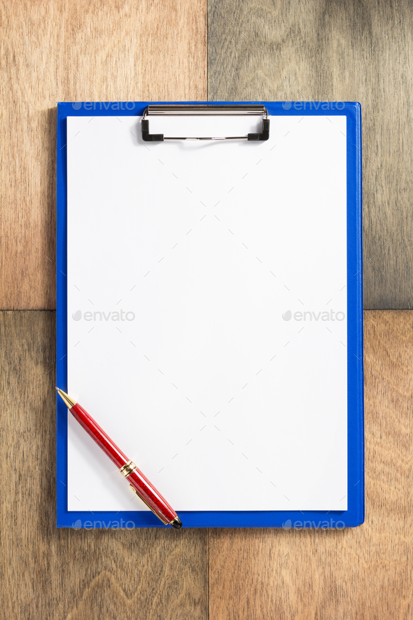 paper clipboard at wooden background stock photo by seregam photodune