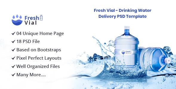 饮用矿泉水输送PSD模板(非营利)