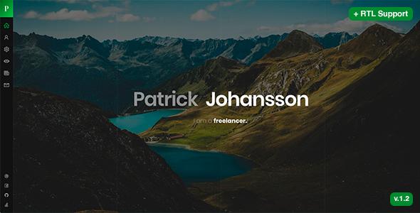 Patrick - Personal vCard / Resume / CV Template by beshleyua ...