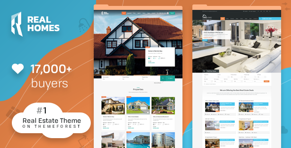 Real Homes   WordPress Real Estate Theme   Real Estate WordPress