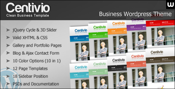 Themeforest: Centivio – WordPress Theme