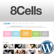 8Cells Minimalist and Clean for Portfolio Creative - ThemeForest Item for Sale