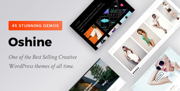Image result for 5 oshine wordpress theme