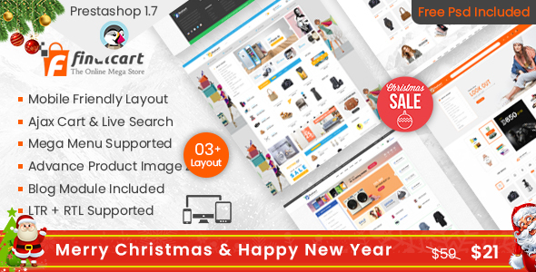 finalcart mega store responsive prestashop17 theme prestashop ecommerce