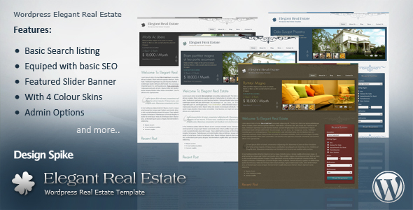 Themeforest: Elegant Real Estate