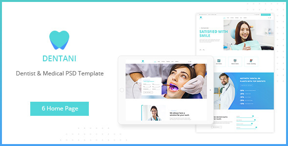 dentas dentist medical psd template by authemes themeforest