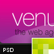 Venus - Online Portfolio - ThemeForest Item for Sale