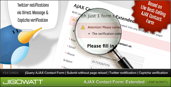 AJAX Contact Form