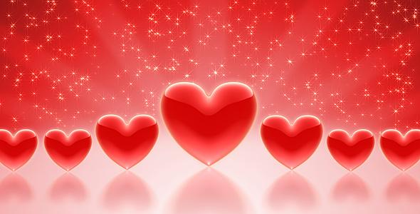 Valentines Hearts by kurbatov | VideoHive