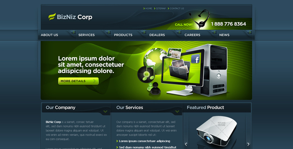 Business Template #09 By Kaisersosa | Themeforest