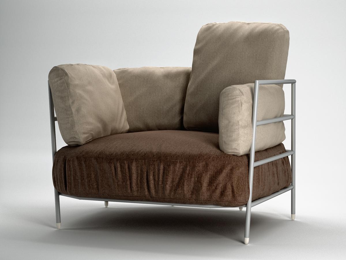 High Armchair by Merrygo on 3D Ocean