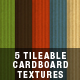 5 Tileable Cardboard Textures