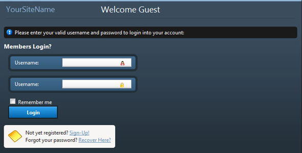 Advanced Login System