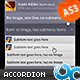 Amazing Two Levels Accordion Menu AS3