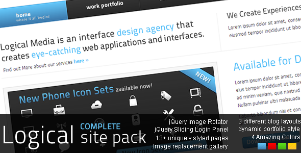 LOGICAL Complete Site Pack By INDI_Hackers