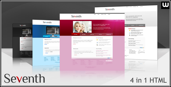 Seventh - Portfolio and Business HTML Template