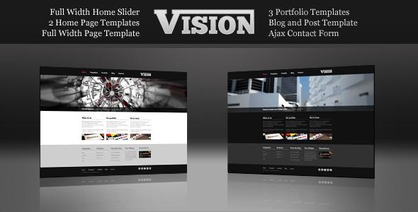 Vision - Corporate and Portfolio HTML Template