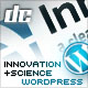 Innovation+Science WordPress Edition Theme - ThemeForest Item for Sale
