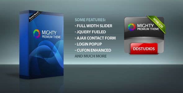 Mighty HTML Template - Themeforest - RIP